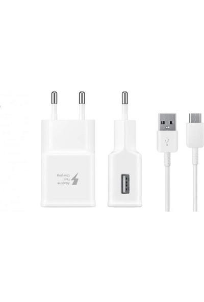 Samsung TA20 Adaptec Fast Charge. Hızlı Seyahat Şarjı Type-C Beyaz (Samsung Türkiye Garantilidir)