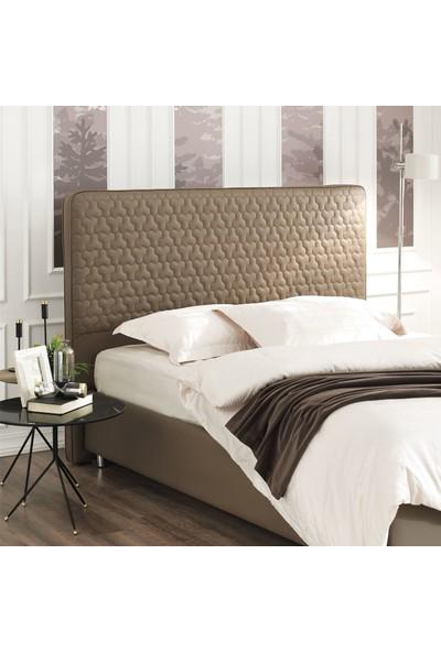 Yataş Bedding Fresh Sense Somni Baza Flora 3'lü Yatak Baza Başlık Set Tek Kişilik 90x190 cm