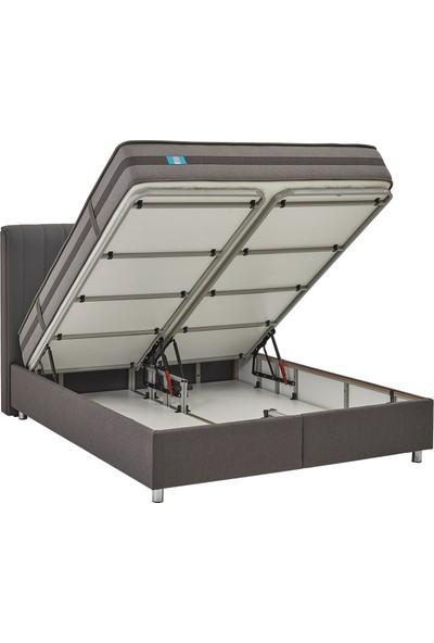 Yataş Bedding Ionic Energy Somni 3'lü Yatak Baza Başlık Set Tek Kişilik 90x190 cm