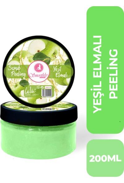 Smoothly Yeşil Elma Canlandırıcı & Yumuşatıcı El Ayak Bakım Peelingi 200ML