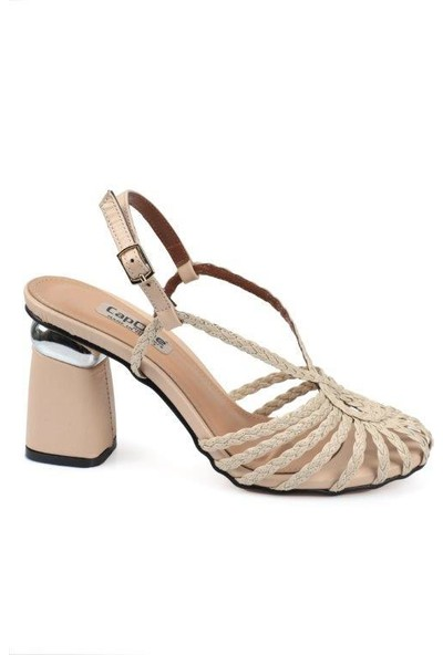 Capone Outfitters Capone Örgülü Kadın Sandalet