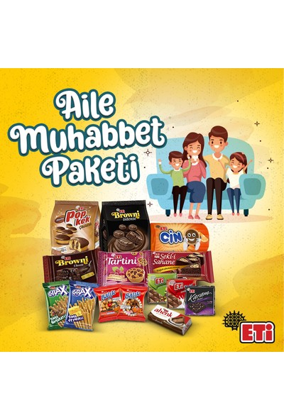 Eti Aile Muhabbet Paketi 14'lü
