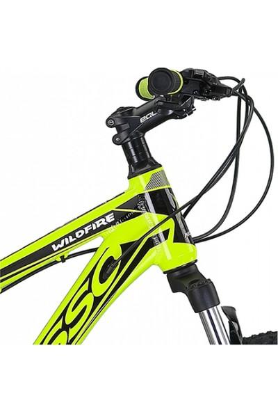 Mosso Wıldfıre M-26-V Erkek Dağ Bisikleti 408H 26 Jant 21 Vites Lime Siyah