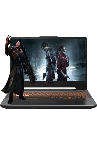 "Asus TUF Gaming FX506LU HN122A7 Intel Core i7 10870H 16GB 1TB SSD GTX 1660Ti Freedos 15.6"" FHD Taşınabilir Bilgisayar"