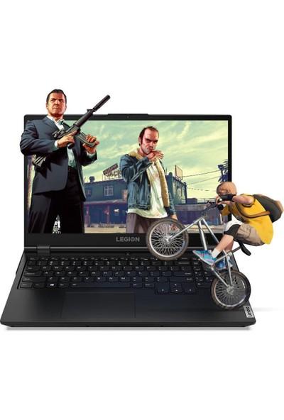 "Lenovo Legion 5 Intel Core i7 10750H 64GB 256GB SSD GTX 1660Ti Freedos 15.6"" FHD Taşınabilir Bilgisayar 81Y600NUTX11"