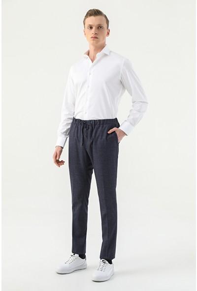 D'S Damat Tween Slim Fit Lacivert Jogger Pantolon