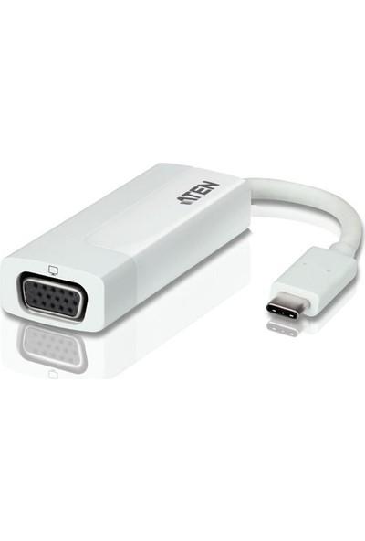 Aten USB Type-C VGA Adaptör Dönüştürücü Kablo