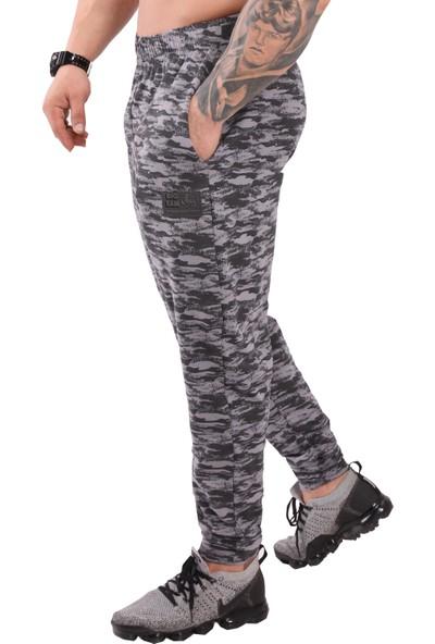 Big Sam Kamuflaj Erkek Eşofman Altı Rahat Kesim Body Pantolon Big Sam 1250