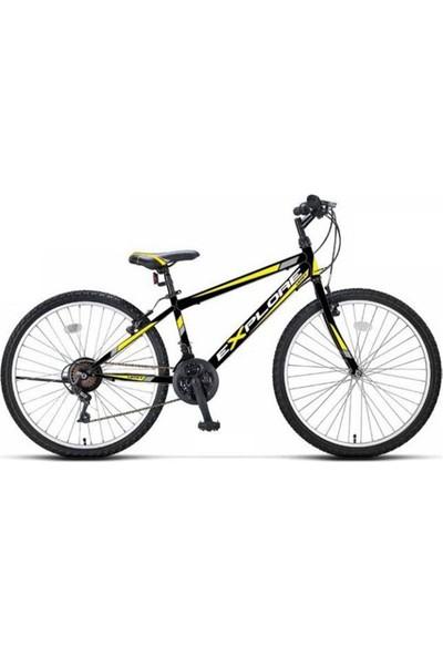 Ümit Bisiklet 2433 Explorer 24 Jant 21 Vites Dağ Bisikleti Siyah Sarı