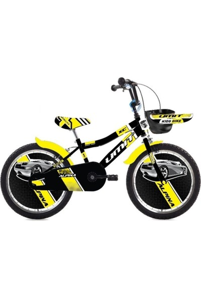 Ümit Bisiklet Alpina 1647 Çocuk Bisikleti 16 Jant Sarı Siyah