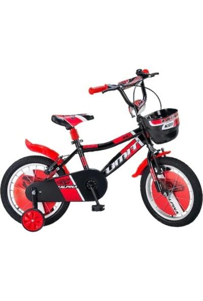 Ümit Bisiklet Alpina 1647 Çocuk Bisikleti 16 Jant Kırmızı Siyah