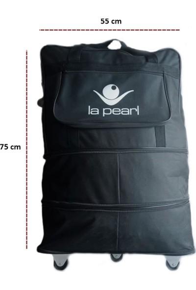 La Pearl Üç Aşamalı Tekerlekli Akordiyon Hurç Çanta