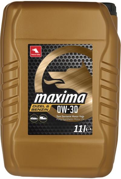 Petrol Ofisi Maxima 0W-30 11 Litre