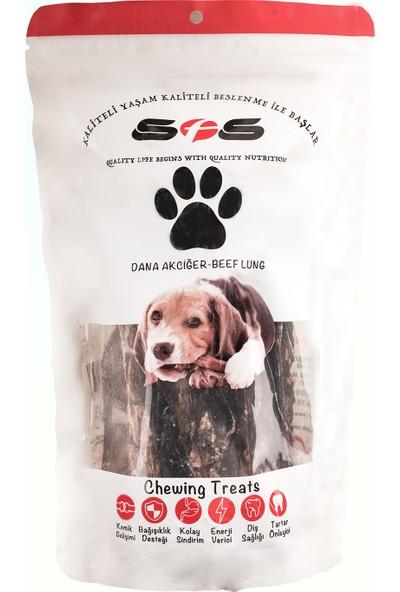 Sfs Köpek Maması Dilim Ciğer Paket İçeriği 100Gr %100 Doğal Çiğneme Ürünü