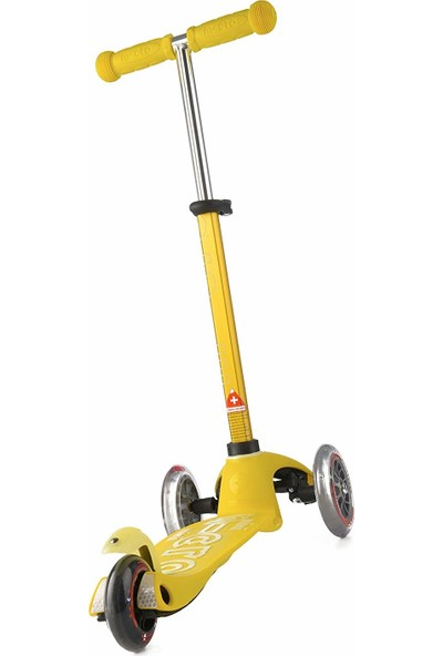Mini Micro Deluxe Scooter Yellow MMD005
