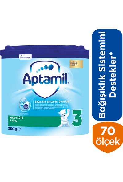 Aptamil 3 Devam Sütü 350 g 9-12 Ay Akıllı Kutu