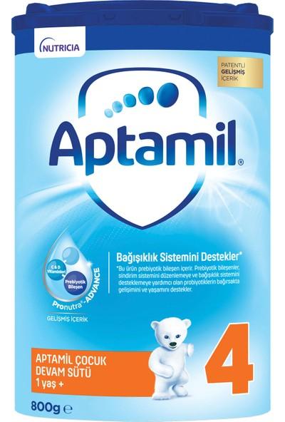 Aptamil 4 Çocuk Devam Sütü 800 g 1 Yaş+ Akıllı Kutu