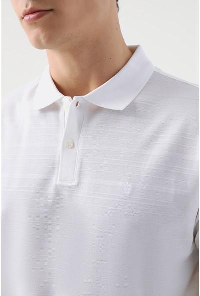 D'S Damat Damat Beyaz 60/2 Merserize T-Shirt