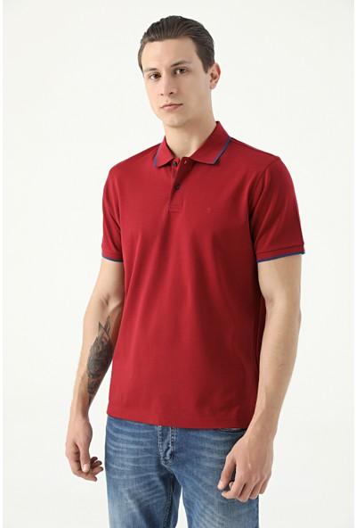 Damat Bordo 60/2 Merserize T-Shirt