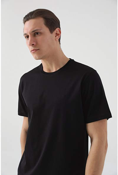 D'S Damat Damat Siyah T-Shirt