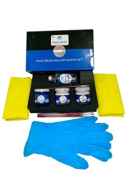 Magic Brush Profesyonel Kit   Cıtroen Xsara Rouge Lucıfer Nacre Kq Rötuş Boyası