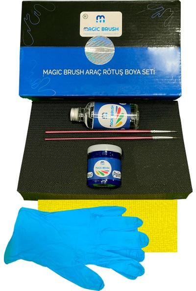 Magic Brush Gelişmiş Kit   Chrysler Neon Medıum Camel Mat Rk5 Rötuş Boyası