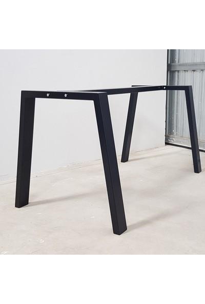 Metal Masa Ayağı Orta Destekli Masa Ayağı 1 Takım Masa Ayağı 70X60X100 cm