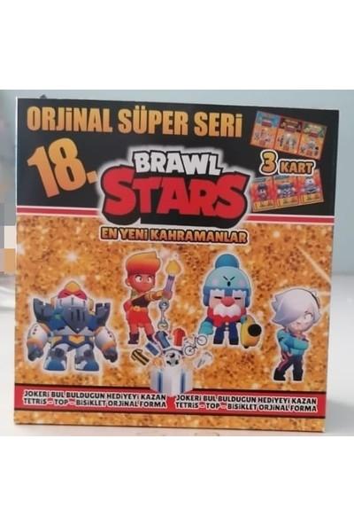 Mavi Kraliyet İlan Brawl Stars 18. Özel Seri 150'LI Kart Son Çıkan Karekter 3D Özel Baskı