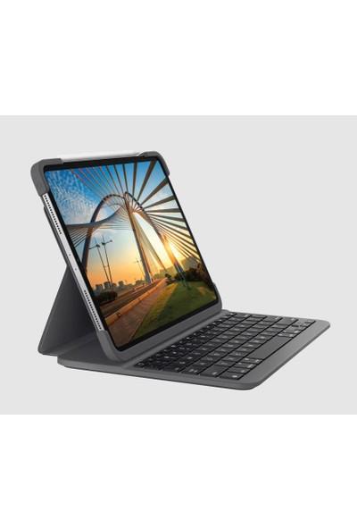 """Logitech Slim Folio 12.9"""" iPad Pro Için Klavyeli Kılıf -Türkçe 920-00914"""