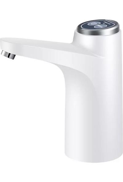 Xrades White Pro Şarjlı Damacana Su Pompası Beyaz 2