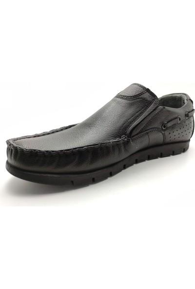 Artmen Plus Serisi Deri Loefer Erkek Siyah Günlük Ayakkabı