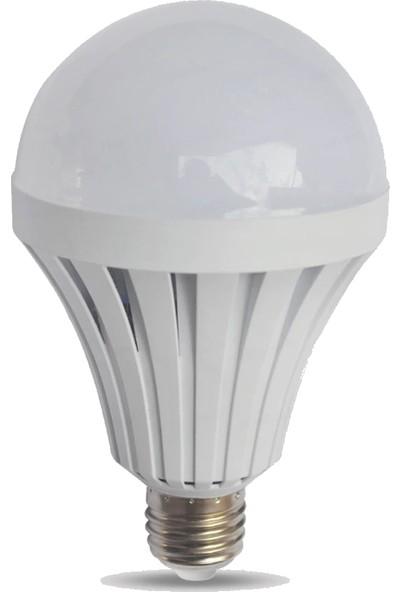 Ventus LED Ampul Şarjlı Beyaz 9 W E27