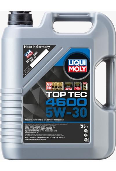 Liqui Moly Top Tec 4600 5W-30 Sentetik Motor Yağı 5 lt
