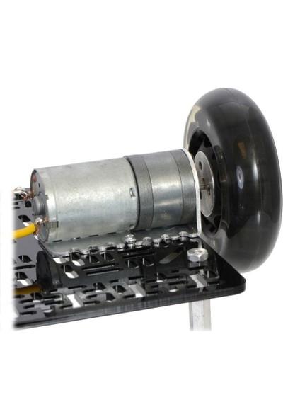 """Pololu Alüminyum Tekerlek Adaptörü 1/4"""""""