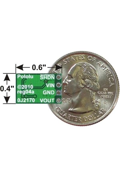 Pololu 2.5-7.5V Düşürücü Ayarlanabilir Voltaj Regülatörü - 4/50V Giriş - D36V6FALV