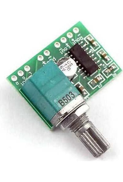 China PAM8403 2 Kanal 3W Ayarlı Mini Amplifikatör