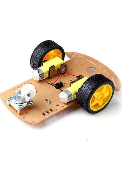 China 2WD Robot Araba Kiti