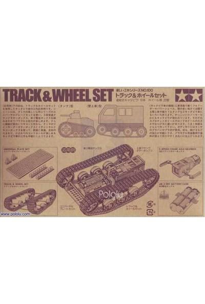 Pololu Tamiya 70100 Track And Wheel Set - Tamiya Palet ve Teker Seti