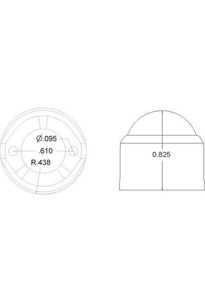 Pololu Metal Sarhoş Teker 3/4 - 0,75 Inch
