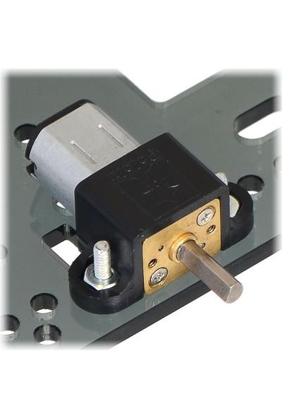 Pololu Hp 6V 100RPM Mikro Metal Redüktörlü Dc Motor (298:1)