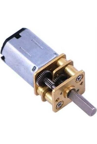 Pololu Hp 6V 410RPM Mikro Metal Redüktörlü Dc Motor (75:1)