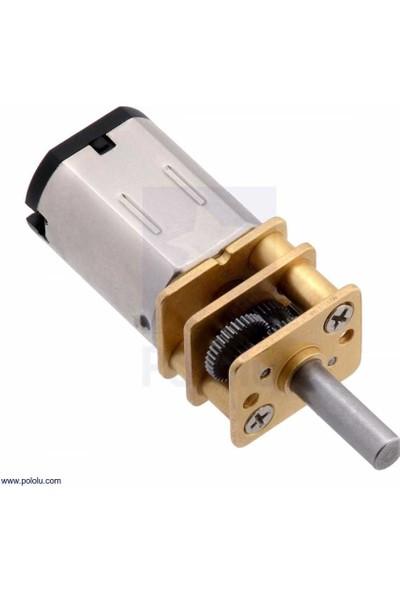 Pololu Hpcp 6V 1100RPM Mikro Metal Redüktörlü Dc Motor (30:1)