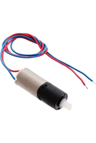 Pololu 26:1 Plastik Redüktörlü Mini Dc Motor 6DX16L mm