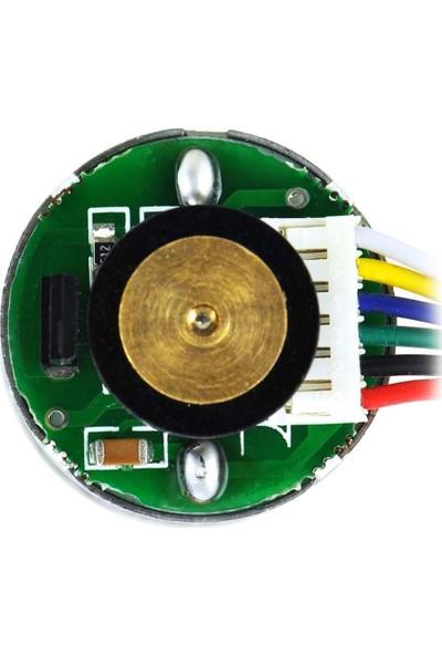 Pololu Hp 6V 990RPM 25MM Metal Redüktörlü Dc Enkoderli Motor (9.7:1)
