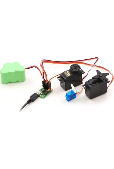 Pololu USB Servo Motor Kontrol Kartı (18 Kanal)