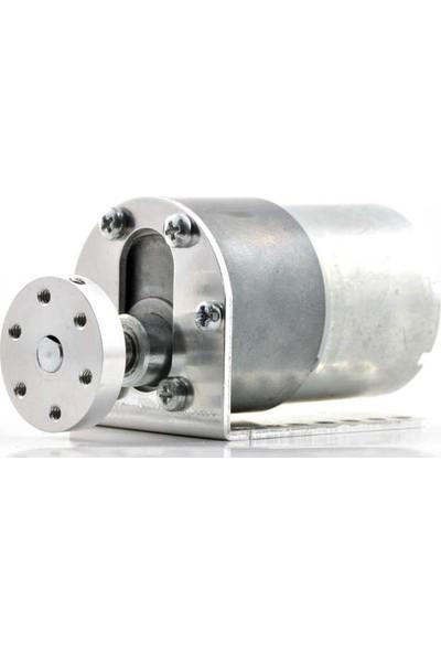 Pololu 37D mm Redüktörlü Motor Bağlantı Aparatı - Alüminyum Motor Tutucu - L Dirsek