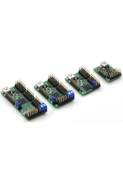 Pololu 12 Kanal USB Servo Motor Kontrol Devresi