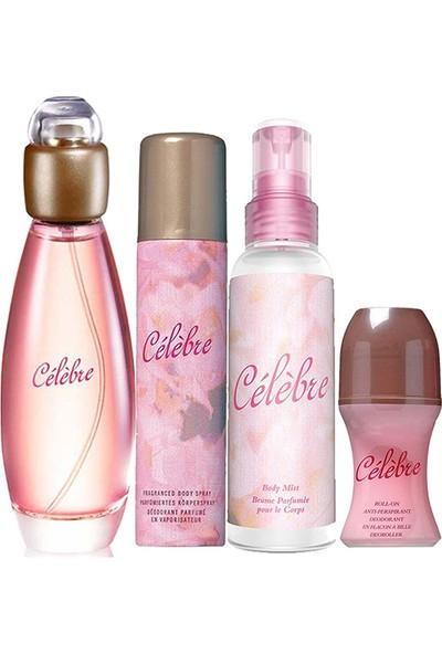 Avon Celebre Dörtlü Kadın Parfüm Set
