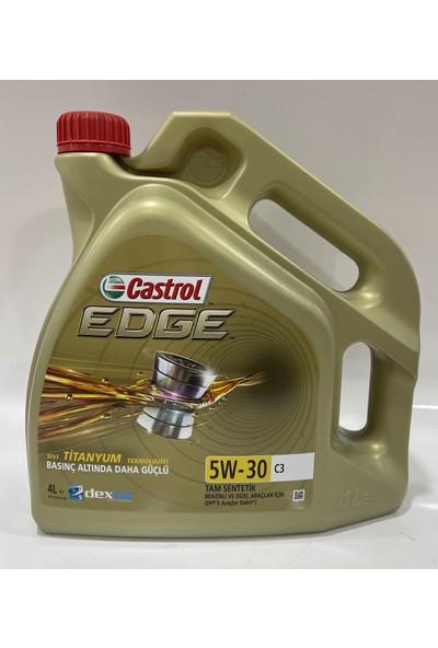 Castrol Edge 5W-30 C3 4 Litre Motor Yağı ( Üretim Yılı: 2020 )