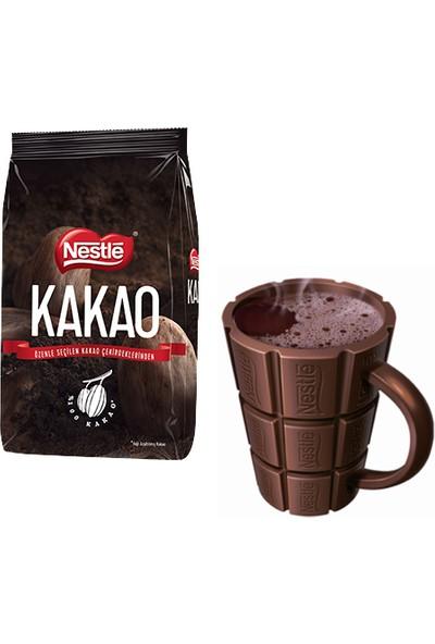 Nestle Kakao 1 kg + Sıcak Çikolata Bardağı